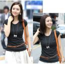LF-0280: Ladies Fashion Top / T-Shirt / Blouse 287 --M