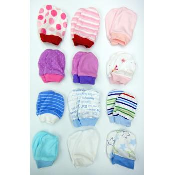CR-0009:Baby Mittens for New Born Per Pair (Non Choose Design with limited design) -- 22/2