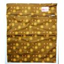 QQB-088: Printed Wetbag the golden flowers