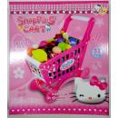 T-621-KT6000G: Hello Kitty Shopping Cart Playset