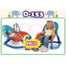 O-153: Baby Throne Newborn to Toddler Rocker  (Blue) - Refer actual photo