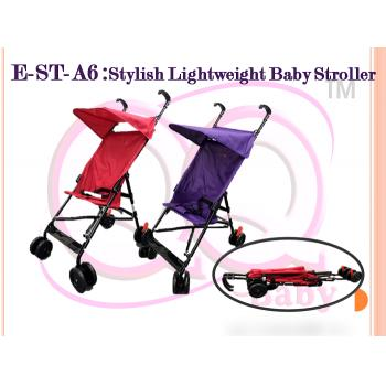E-ST-A6 :Stylish Lightweight Baby Stroller ( **East Malaysia need pay postage fees RM60** )