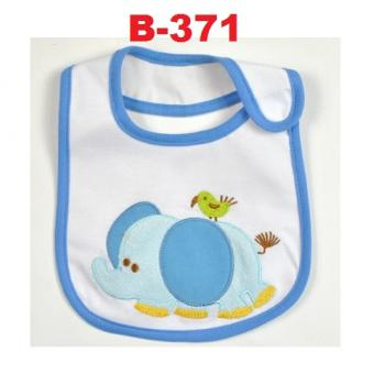 B-371: Cute Embroidery Baby Bib --   28/1