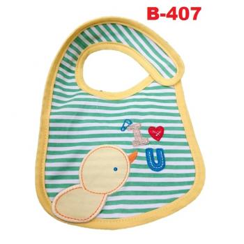 B-407: Cute Embroidery Baby Bib --   29/2