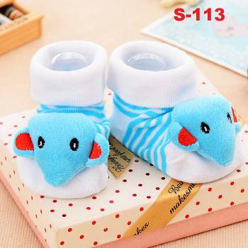 S-113: Cute 3D Anti-Slip Baby Socks (PACK WITH OPP BAG) --  6
