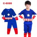 C-8088: Sleepsuit (Long Sleeve+Pant) --F