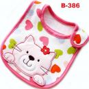B-386: Cute Embroidery Baby Bib --  28/1