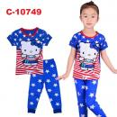 C-10749: Sleepsuit (Short Sleeve+Long Pant) -- 7/2