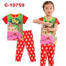 C-10759: Sleepsuit (Short Sleeve+Long Pant) -- 41
