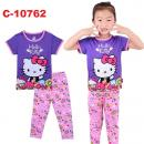 C-10762: Sleepsuit (Short Sleeve+Long Pant) -- 18/1