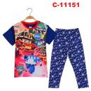C-11151: Baby Sleepsuit (Short Sleeve+Long Pant) --  4