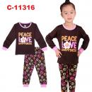 C-11316: Sleepsuit (Long Sleeve+Pant) -- 28/2