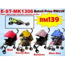 E-ST-MK1306: Super lightweight foldable umbrella stroller ( **East Malaysia need pay postage fees RM90** )