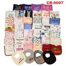 CR-0007: Various Baby Bib Per pcs (Non Choose Design)