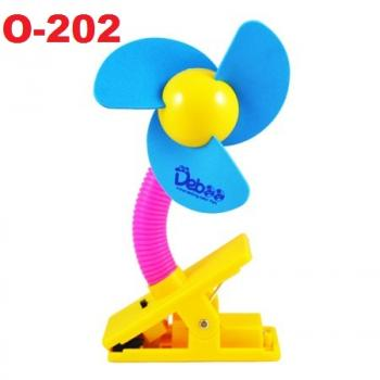 O-202: Deboo Clip-on Fan with USB Cable (Blue) -- 29A (R)