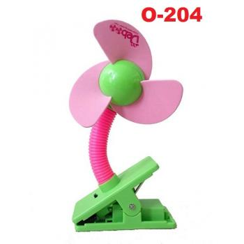 O-204: Deboo Clip-on Fan with USB Cable (Pink) -- 29A