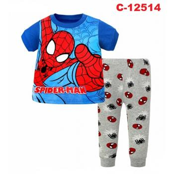 C-12514: Sleepsuit (Short Sleeve+Long Pant) --  4