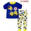 C-12522: Sleepsuit (Short Sleeve+Long Pant) -- 3