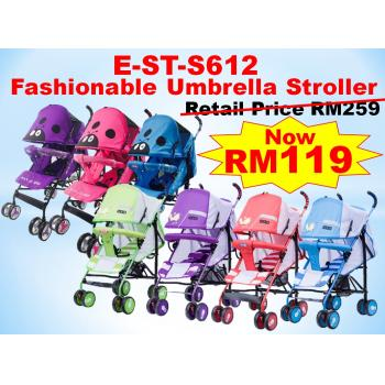 E-ST-S612: Fashionable Umbrella Stroller ( **East Malaysia need pay postage fees RM90** )