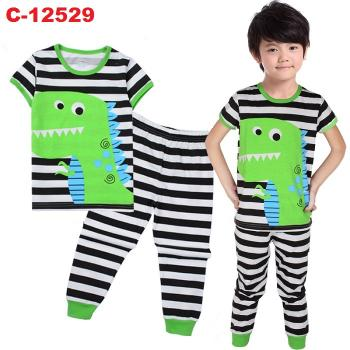 C-12529: Sleepsuit (Short Sleeve+Long Pant) -- 14/2