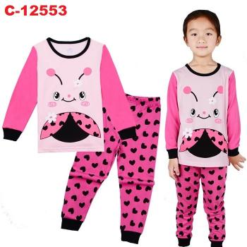 C-12553: Sleepsuit (Long Sleeve+Pant) --  8/1