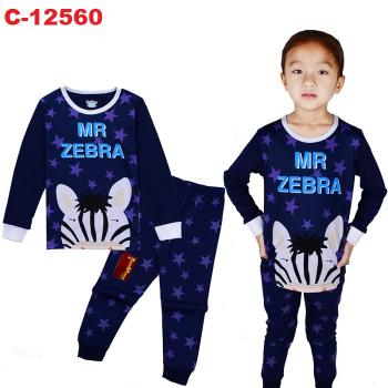 C-12560: Sleepsuit (Long Sleeve+Pant) --  16/2
