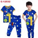 C-12532: Sleepsuit (Short Sleeve+Long Pant) -- 6/1