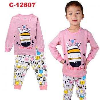 C-12607: Sleepsuit (Long Sleeve+Pant) -- 7/2