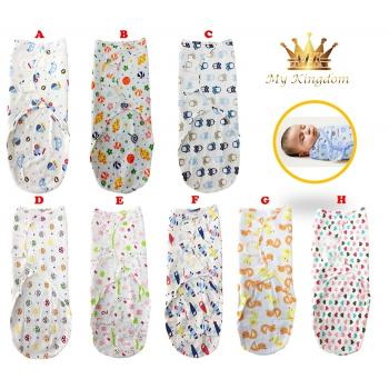 MK-SWADDLE-Adjustable Infant Wrap (R)