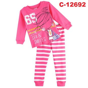 C-12692: Sleepsuit (Long Sleeve+Pant) -- 14/1