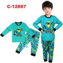 C-12887: Sleepsuit (Long Sleeve+Pant) --  18/1