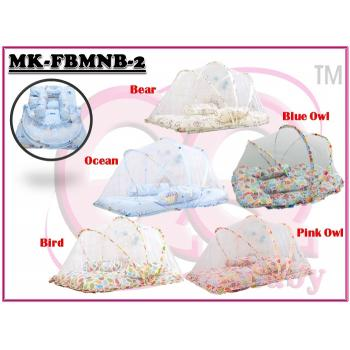 MK-FBMNB-2: Foldable Baby Mosquito Net Bed (R) ( **W/M'Sia postage fee RM 10, E/M'Sia postage fees RM15** )