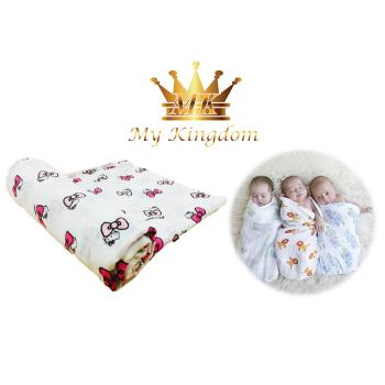 MK-SWDBLKT18-KITTY- Muslin Swaddle Blanket (R)