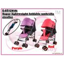 E-ST-U878: MK Super lightweight foldable umbrella stroller ( **East Malaysia need pay postage fees RM90** )