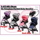 E-ST-MK-D840: My Kingdom Stylish Baby Stroller ( **East Malaysia need pay postage fees RM120** )