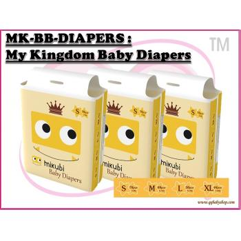 MK-BB-DIAPERS : My kingdom Baby Diaper (W/M'sia No free postage)( **Not Selling to East Malaysia **)