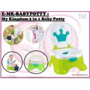E-MK-BABYPOTTY : My Kingdom 3 in 1 Baby Potty   ( **W/M'Sia Free Postage, E/M'Sia postage fees RM45** )