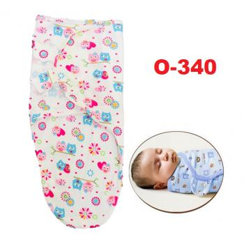 O-340: Swaddle Adjustable Infant Wrap, Small/Med, 7-14 lbs (R)