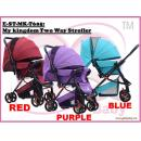 E-ST-MK-T605: My kingdom Two Way Stroller   ( **East Malaysia need pay postage fees RM150** )
