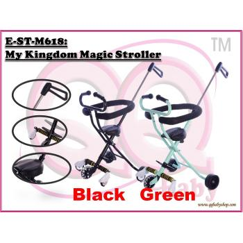 E-ST-M618: My Kingdom Magic Stroller ( **W/M'Sia Free Postage, E/M'Sia postage fees RM60** )