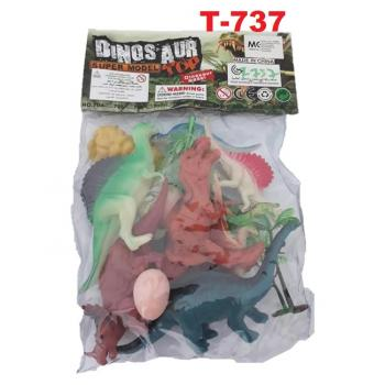 T-737: Dinosaur Super Model (8pcs) -- 2/3