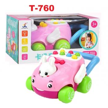 T-760: Baby Push Pull Music Mini Stroller -- 2/1