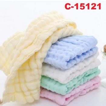 O-367 : 5 in 1 Muslin Cotton Baby Towel Handkerchief