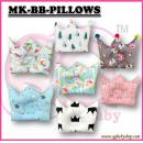 MK-BB-PILLOWS: My Kingdom Baby Crown Pillows