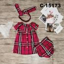 C-15173: Baby Dress 3pcs Set -   R8/1 / NWH