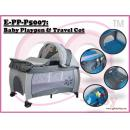 E-PP-P5007  : Baby Playpen & Travel Cot ( **East Malaysia need pay postage fees RM160** )