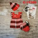 C-15369: Baby Dress 3pcs Set - R37 / NWH