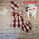 C-15370: Baby Dress 3pcs Set - R7/2 / NWH
