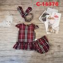 C-15376: Baby Dress 3pcs Set - R25/1 / NWH