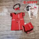 C-15377: Baby Dress 3pcs Set - RN / NWH
